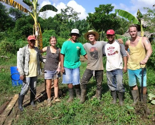Internship Sustainable Living Taino Farm Group Foto
