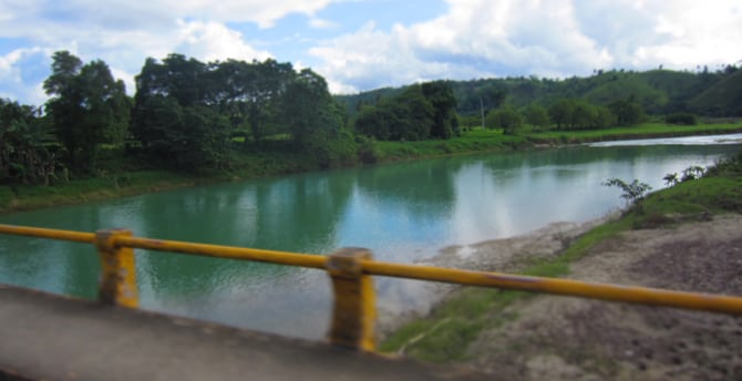 crossing the Yassica River