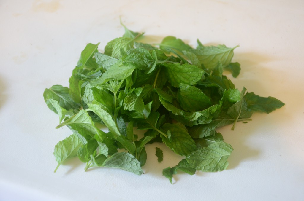 fresh mint from taino farms