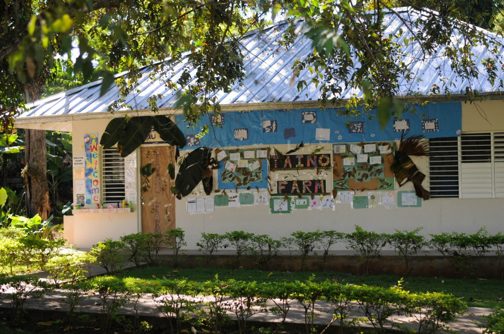 We knew just where to find them! These creative students made a beautiful Taino Farm sign.