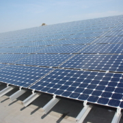 solar panels for residential project